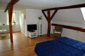 Zimmer Morgensonne der Pension Weidenbaum und Wildhecke