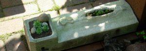 Gartenobjekt der Bildhauerin Doris Gessner